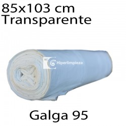 Bolsas basura 85x103 cm 10 uds transp. galga 95