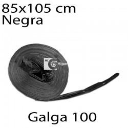 Bolsas basura 85x105 cm 10 uds negro galga 100