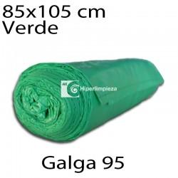 Bolsas basura 85x105 cm 10 uds verde galga 95