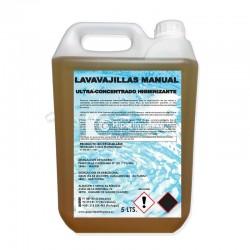 Lavavajillas concentrado manual higienizante 5L