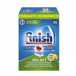 Detergente lavavajillas Calgonit 55 Finish Powerball