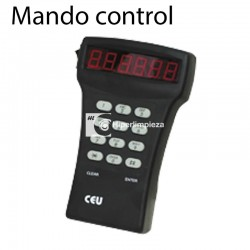 Mando control cajas seguridad